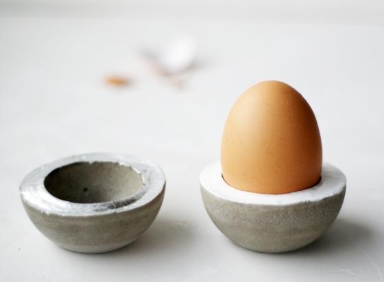 Eierbecher Beton nicht nur zur osterzeit dramaqueenatwork