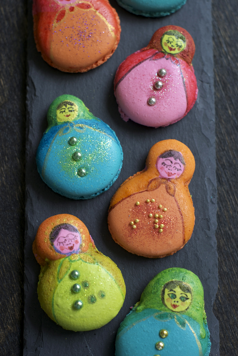 Matroschka Macarons