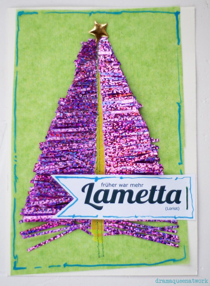 Früher war mehr Lametta.. | dramaqueenatwork