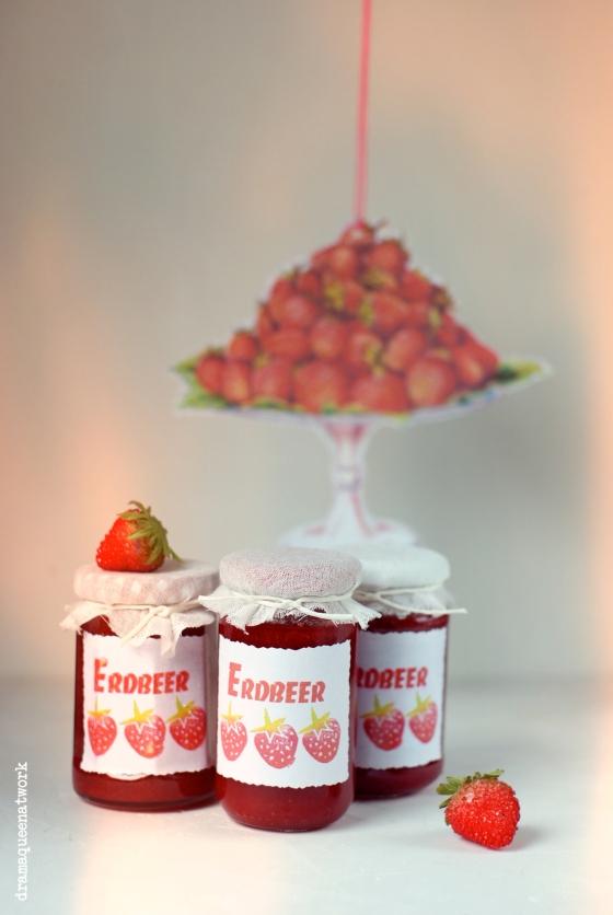 Erdbeer marmelade bliss
