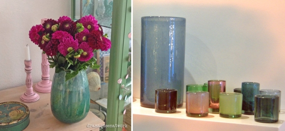 dean flowers vase und lichter  dramaqueenatwork