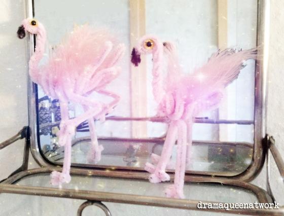 Flamingos Cenille dramaqueenatwork