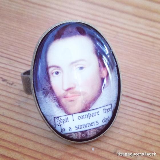 Shakespeare Ring dramaqueenatwork