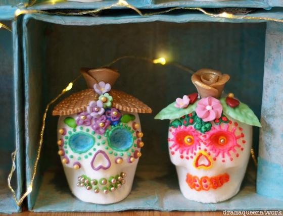 Sugar skulls dramaqueenatwork